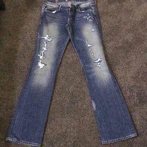 Abercrombie Emma bootcut jeans